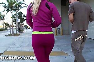 BANGBROS - Big Tit MILF Platinum's Sex Workout (ml5416)