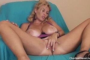 Big Tit Tampa MILF Charlee Chase Dildo Play