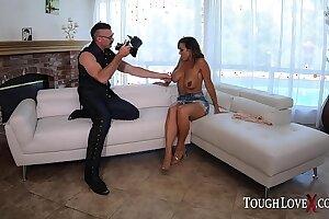 TOUGHLOVEX Karl casting busty MILF Aubrey Black