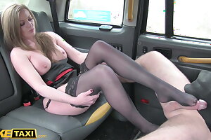 Fake Taxi, English MILF with big tits cheats on her husband