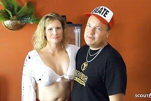 MMMF Gangbang Sex with German Busty MILF Melanie Moon